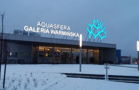 Aquasfera w Olsztynie ze sponsorem tytularnym za 5 mln zł